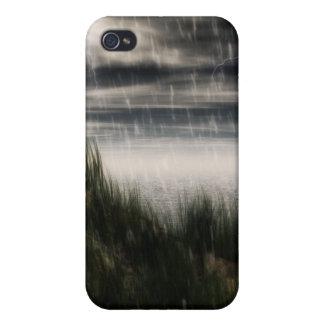 Caja oscura de la tormenta iPhone 4/4S fundas