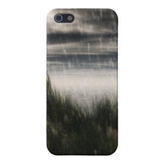 Caja oscura de la tormenta iPhone 5 carcasa