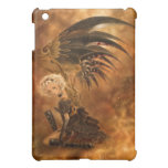 Caja oscura del iPad del ángel de Steampunk