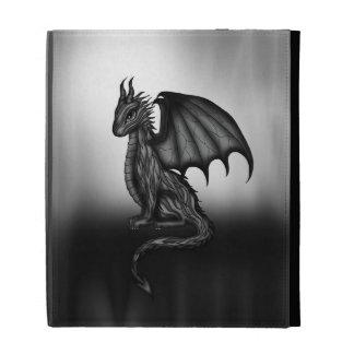 caja oscura del ipad del dragón