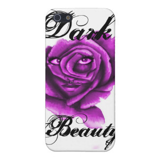 Caja oscura del iphone 4 de la belleza iPhone 5 protectores