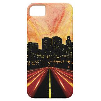 Caja oscura del iPhone 5 de la ciudad iPhone 5 Fundas