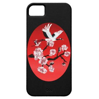 Caja (oscura) del iPhone 5 de la grúa y de sun del Funda Para iPhone SE/5/5s