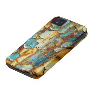 Caja oxidada azul del iPhone 4 de la pintura que Case-Mate iPhone 4 Protectores