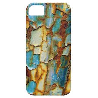 Caja oxidada azul del iPhone 5 de la pintura que s iPhone 5 Case-Mate Cárcasas