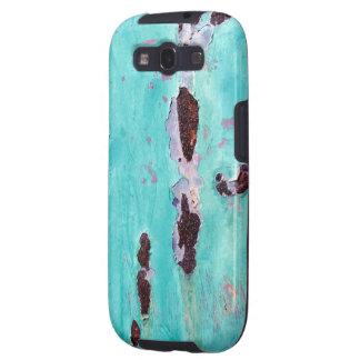 Caja oxidada de la galaxia S3 de Samsung de la tex Samsung Galaxy S3 Protectores