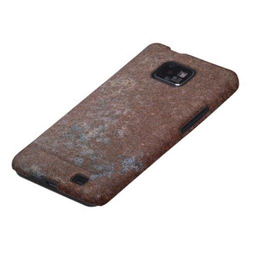 Caja oxidada de la galaxia S de Samsung de la text Samsung Galaxy S2 Carcasa