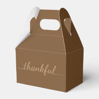 Caja para llevar agradecida del envase de la cajas para regalos de boda