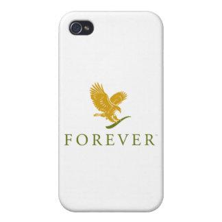 Caja para siempre de vida del teléfono iPhone 4/4S fundas