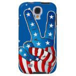 Caja patriótica de los dedos S4 de la mano de la v