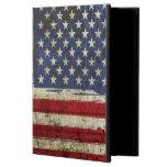 Caja patriótica del aire del iPad de la bandera de