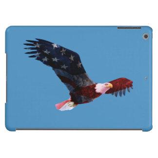Caja patriótica del aire del iPad de la bandera de Funda Para iPad Air