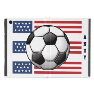 Caja patriótica del aire del iPad del diseño del iPad Mini Protectores