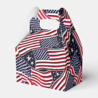 Caja patriótica del favor del aguilón del día de cajas para regalos de boda