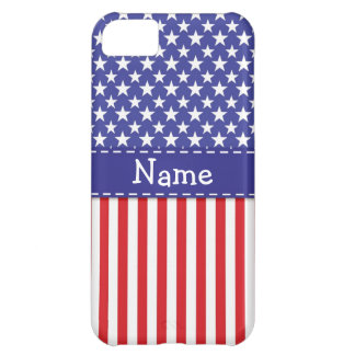 Caja patriótica del teléfono celular