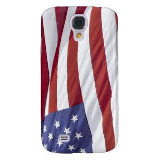 Caja patriótica del teléfono de los E.E.U.U. de la Funda Para Galaxy S4