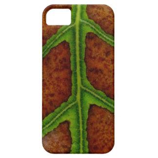 Caja perdidosa de la clorofila de la hoja iPhone 5 carcasas