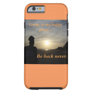 Caja permanente del teléfono celular del escape funda para iPhone 6 tough