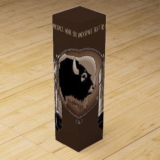 Caja personalizada caja de las naciones del vino caja de vino