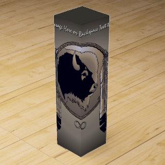 Caja personalizada caja de las naciones del vino caja para botella de vino