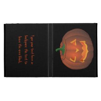Caja personalizada caso del iPad de Halloween del
