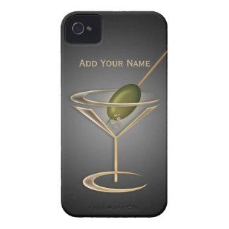 Caja personalizada cócteles lindos iPhone 4 cárcasa