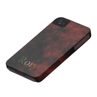 Caja personalizada conocida del teléfono celular carcasa para iPhone 4 de Case-Mate