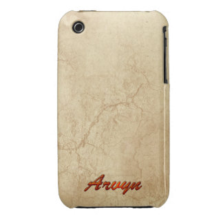 Caja personalizada conocida del teléfono celular funda para iPhone 3
