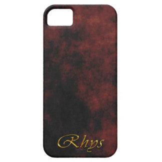 Caja personalizada conocida del teléfono celular iPhone 5 carcasa