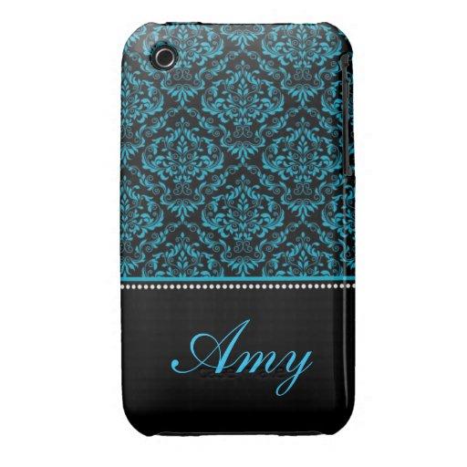 Caja personalizada de la curva de Blackberry del d Case-Mate iPhone 3 Fundas