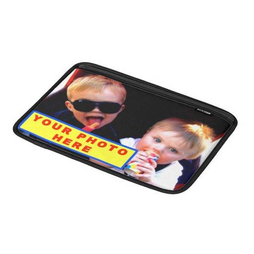Caja personalizada del aire de MacBook con SU FOTO Fundas Para Macbook Air