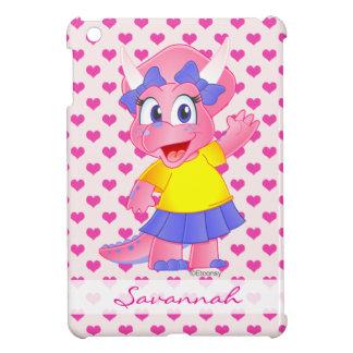 Caja personalizada del iPad de Dino de la sabana m iPad Mini Protector