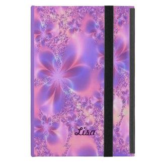 Caja personalizada del iPad de la flor del fractal iPad Mini Funda