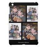 Caja personalizada del iPad del collage de la