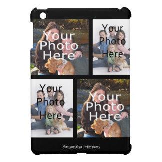 Caja personalizada del iPad del collage de la foto