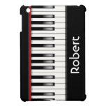 Caja personalizada del iPad del teclado de piano m iPad Mini Cárcasas