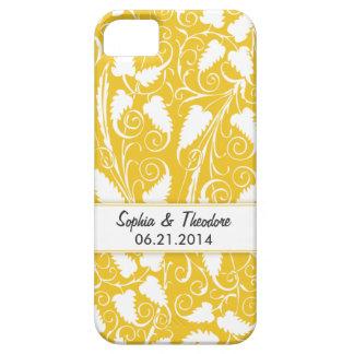 Caja personalizada del iPhone 4 de la vid del oro iPhone 5 Cárcasa