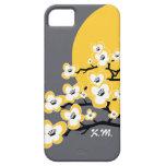 Caja personalizada del iPhone 5/5S de la flor de c iPhone 5 Protector
