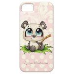 Caja personalizada del iphone 5 de los polkadots d iPhone 5 Case-Mate protector
