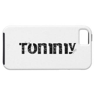 Caja personalizada del iPhone 5 de Tommy iPhone 5 Carcasa