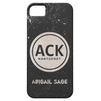 Caja personalizada del iPhone 5 del ACK Nantucket iPhone 5 Fundas