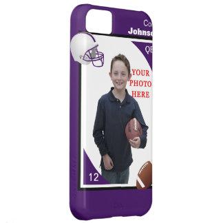 Caja personalizada del iPhone 5 del fútbol