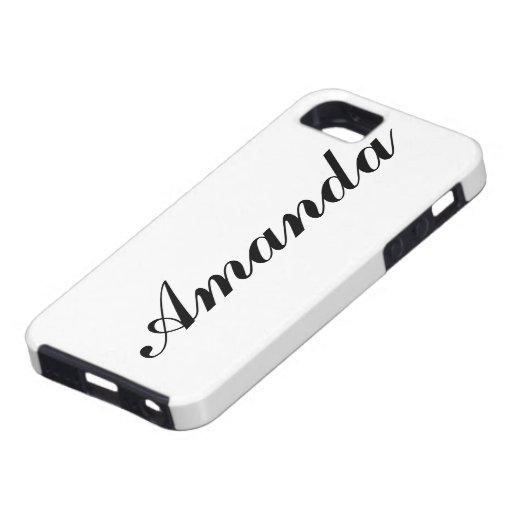 Caja personalizada del iPhone 5 iPhone 5 Case-Mate Cárcasas