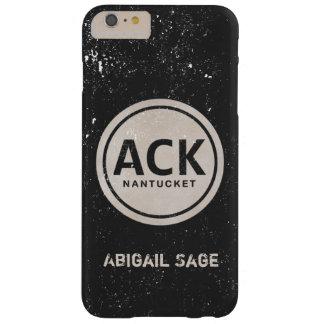 Caja personalizada del iPhone 6 del ACK Nantucket Funda Para iPhone 6 Plus Barely There
