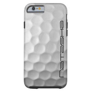 Caja personalizada del iPhone 6s de la pelota de Funda De iPhone 6 Tough