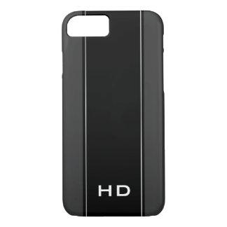 Caja personalizada del iPhone 7 del negro del Funda iPhone 7