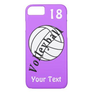 Caja personalizada del iPhone 7 del voleibol, su Funda iPhone 7