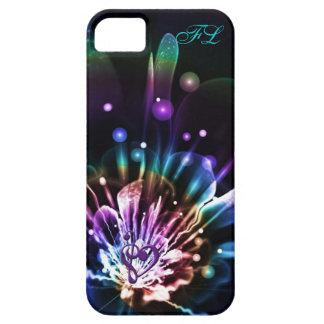 Caja personalizada del iPhone de la flor del fract iPhone 5 Coberturas