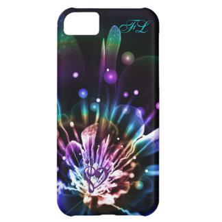 Caja personalizada del iPhone de la flor del fract
