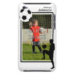Caja personalizada del tacto de iPod del fútbol iPod Touch Case-Mate Carcasas